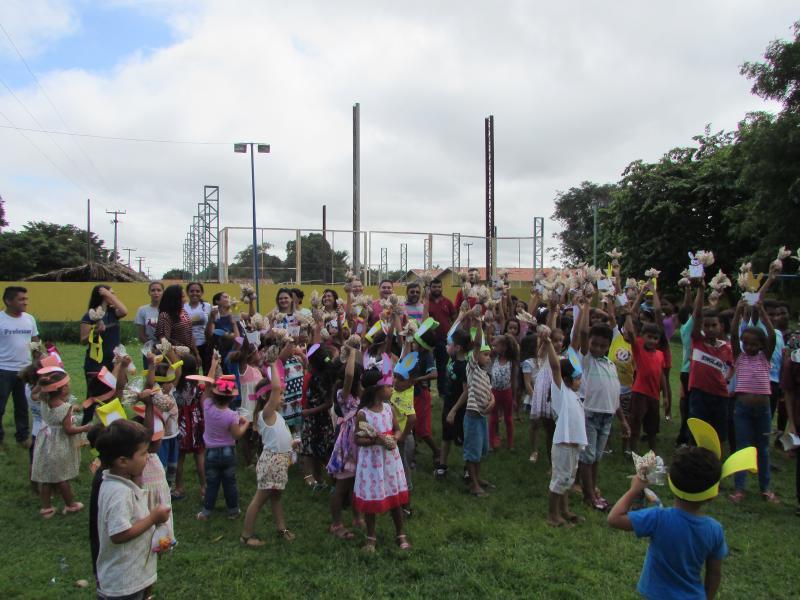 Prefeitura municipal de Lagoinha realiza evento em comemoração a pascoa