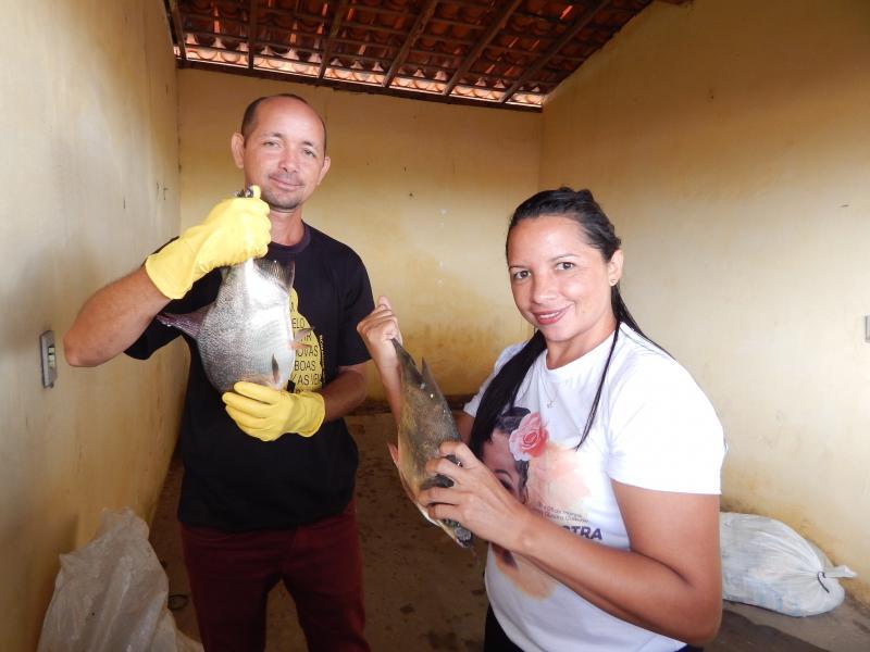 BENEDITINOS: Prefeitura faz distribuição de Peixes