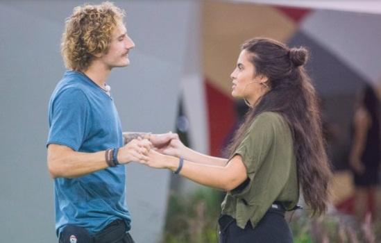 Ex-BBBs Alan e Hana decidem ser amigos: 'manter nossa parceria'