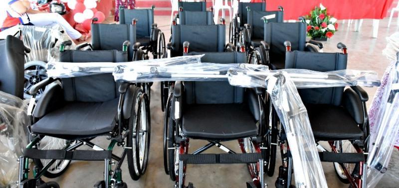 Prefeitura de Alegrete faz aquisição de oito cadeiras de roda