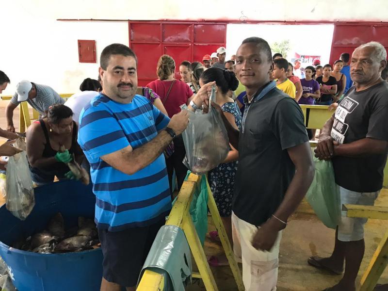 Prefeitura de Lagoa do Piauí realiza tradicional distribuição de peixes