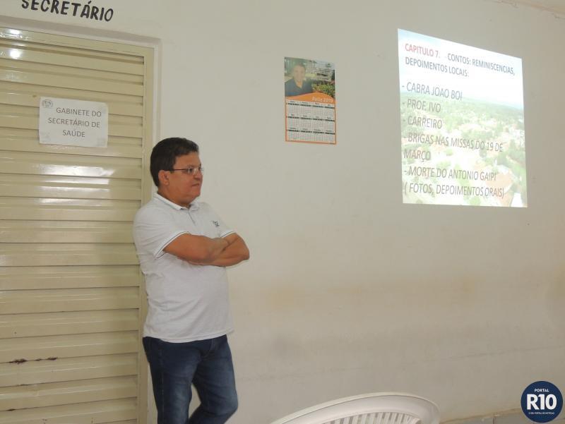Encontro pra apresentação do Livro sobre a história de Campo Largo-PI