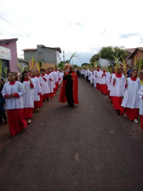 Abertura da Semana Santa em Demerval Lobão é marcada por muita fé