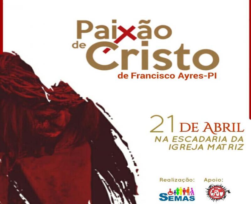 Assistência Social convida população para teatro da Paixão de Cristo