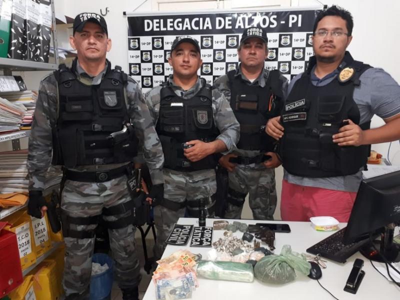 BENEDITINOS: Policia prende foragido do sistema prisional
