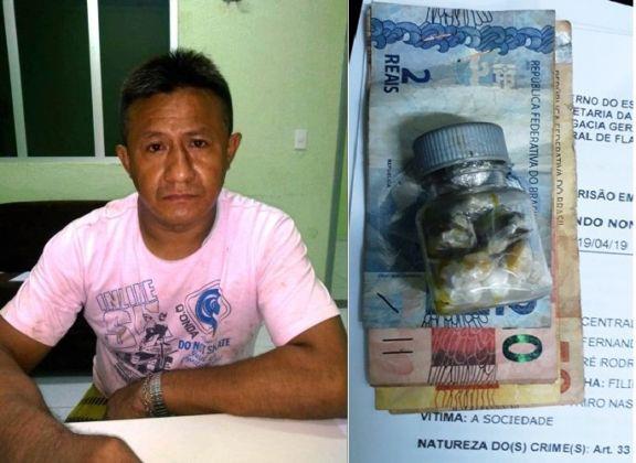 Comerciante é preso por tráfico de drogas no Piauí