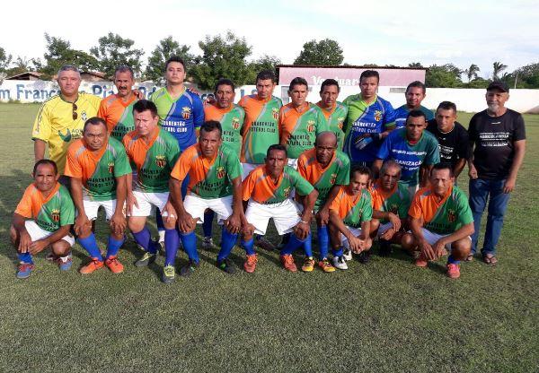 Seleção dos Cinquentões de Agricolândia estreia com Vitória