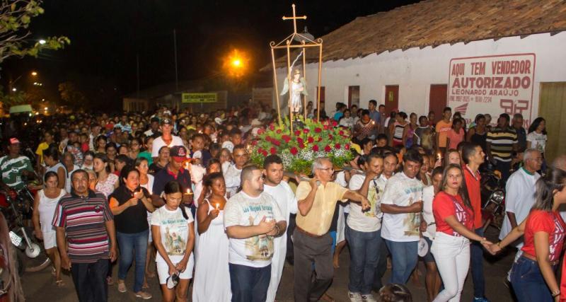 Benção do Santíssimo marca encerramento dos Festejos de São Miguel Arcanjo