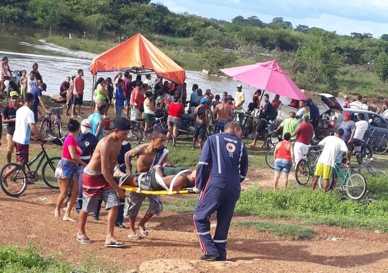 Mulher morre afogada e homem está desparecido em barragem no PI