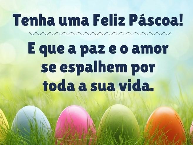 Feliz Pascoa!