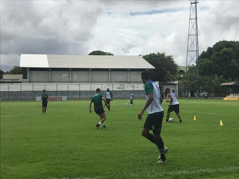 Altos intensifica treinos focado em confrontos pela Pré-Copa do NE