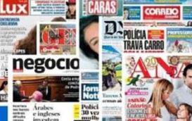 22 de abrill, segunda-feira - Os destaques nos principais jornais