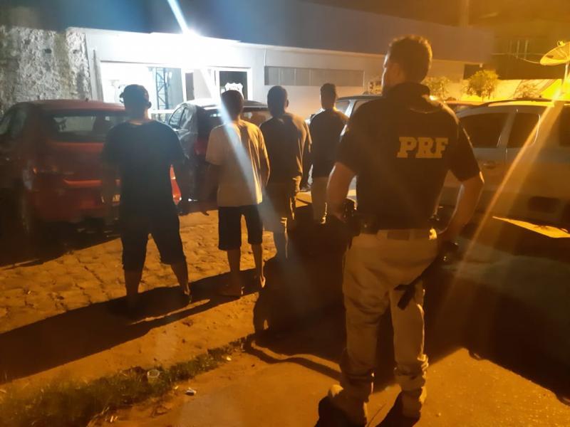 PRF prende indivíduos por porte de droga para consumo em Picos