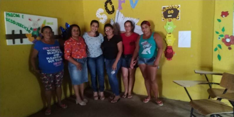 CRAS realiza palestra em comunidades rurais de Olho D'água