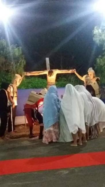 Igreja Assembléia de DEUS realiza celebração de Domingo de Páscoa