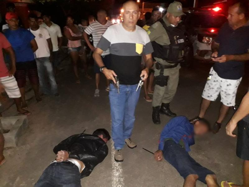 Homem é baleado ao reagir a assalto na cidade de Altos