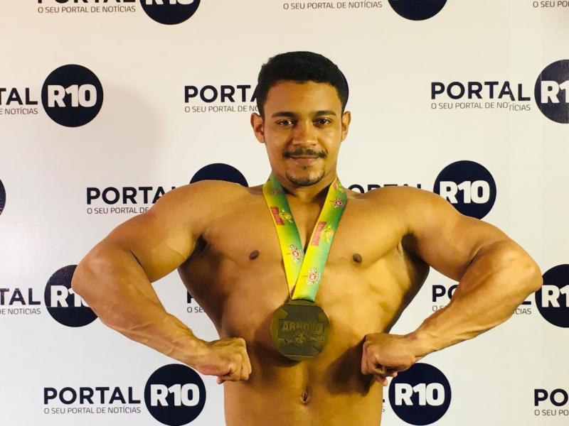 Piauiense vence 3º lugar no Arnold Classic Brasil