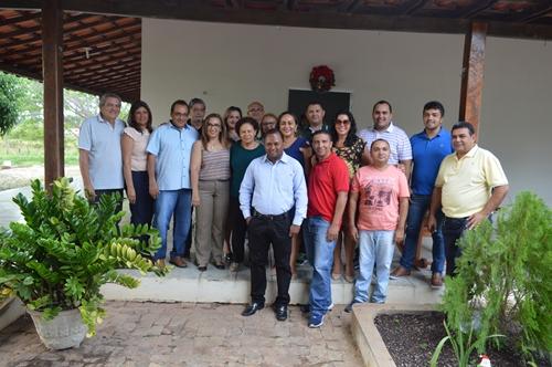 Senadora Regina Sousa visita Prefeita de Guadalupe