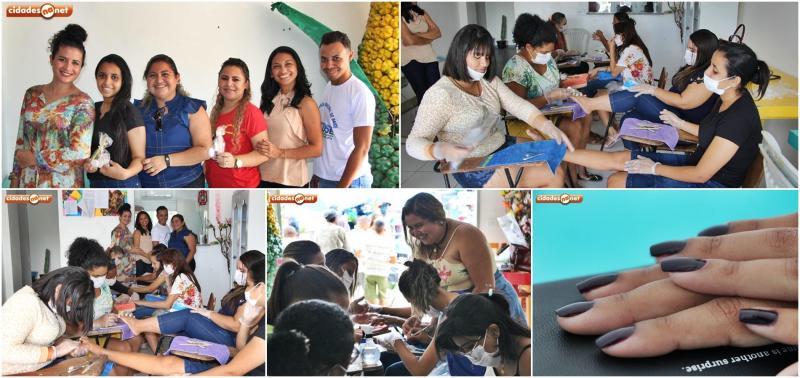 Secretaria de cultura promove curso de manicure e pedicure