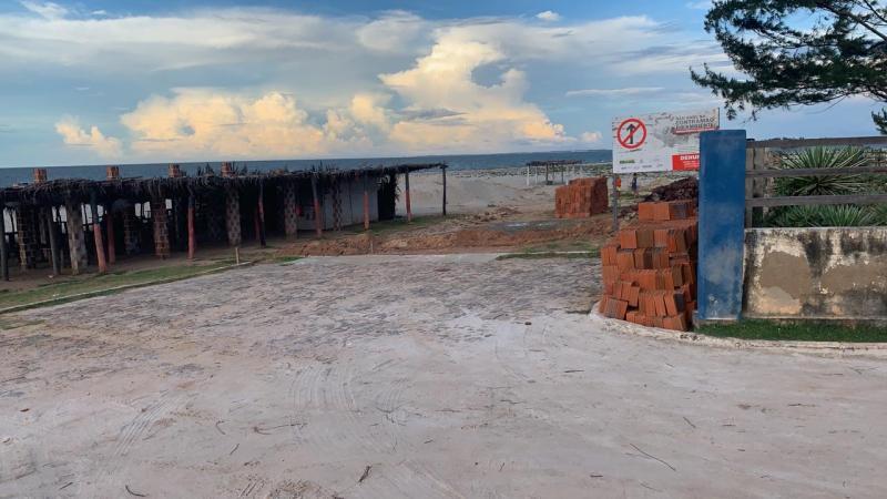 MPF é acionado sobre obra em via de acesso à praia da Barrinha