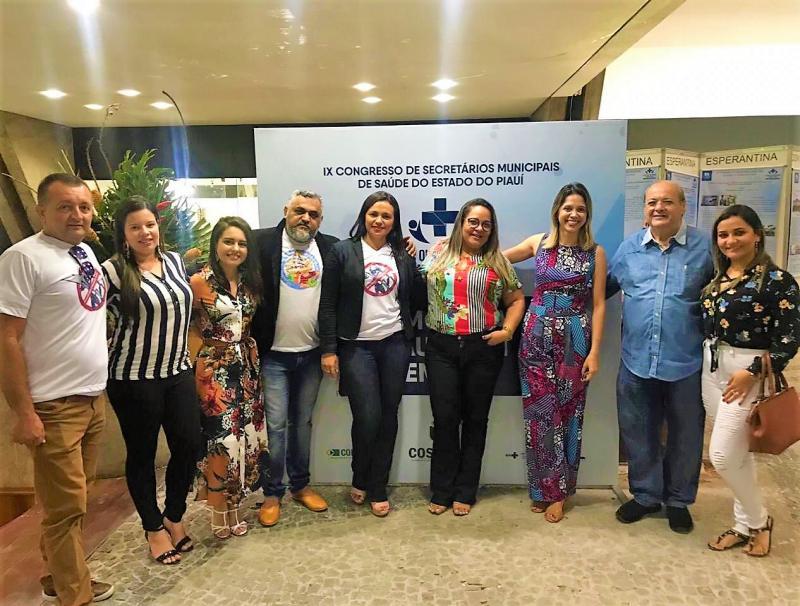 SMS de Joaquim Pires participa do IX Congresso de Secretários Municipais