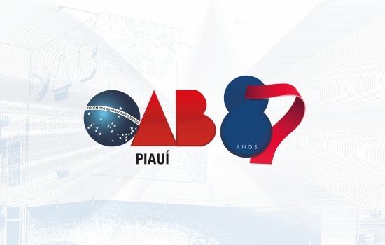 OAB Piauí celebra 87 anos de sua criação