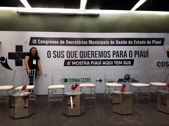 Saúde de Francinópolis participa de congresso da COSEMS/PI em Teresina