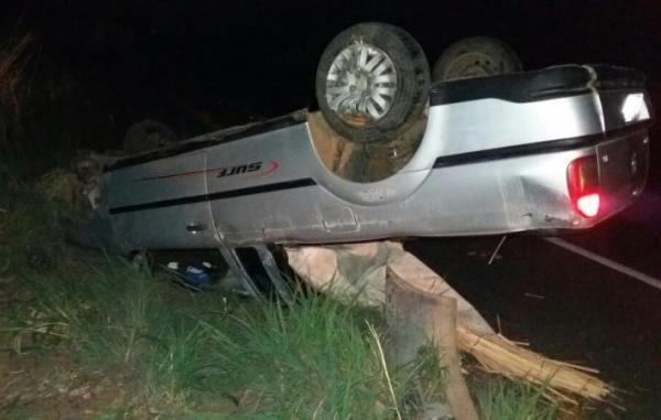 Motorista fica gravemente ferido após collisão na BR 316