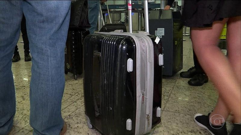 Despacho de bagagem de mão fora do padrão começa nesta quinta...