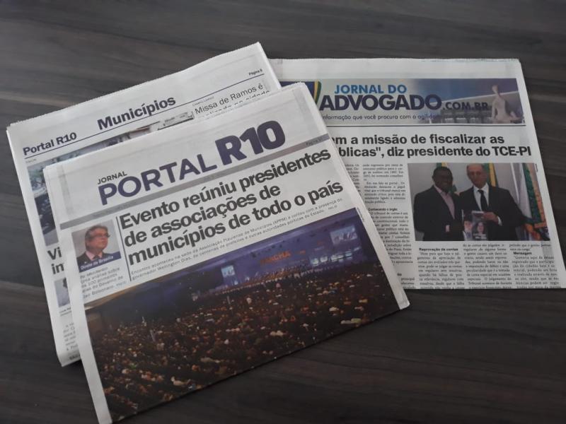 Lançada segunda edição do Jornal Portal R10