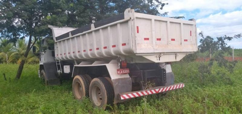 Caminhão roubado no Ceará é encontrado no Piauí
