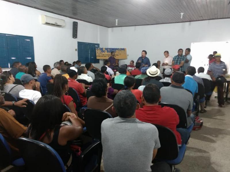 Reunião discute situação de funcionários dos xafarizes municipais