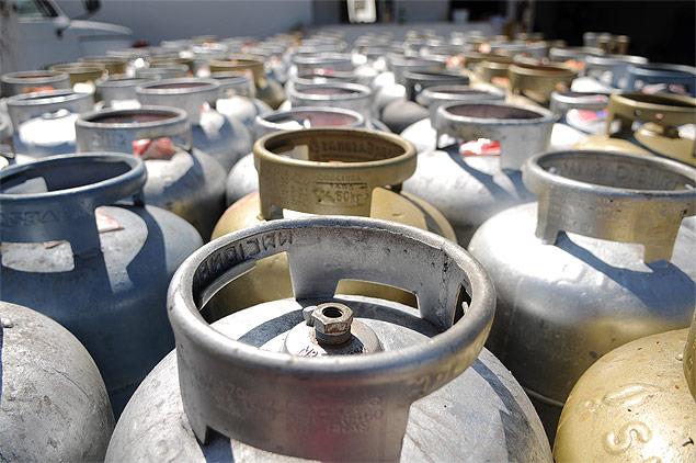 Petrobras aumenta preço do botijão de gás em 8,9%