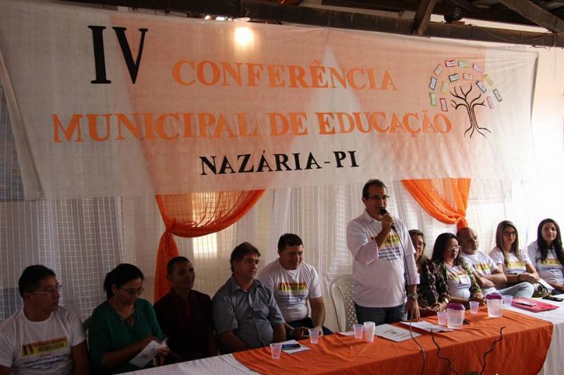 Prefeitura de Nazária realizou a IV Conferência Municipal de Educação