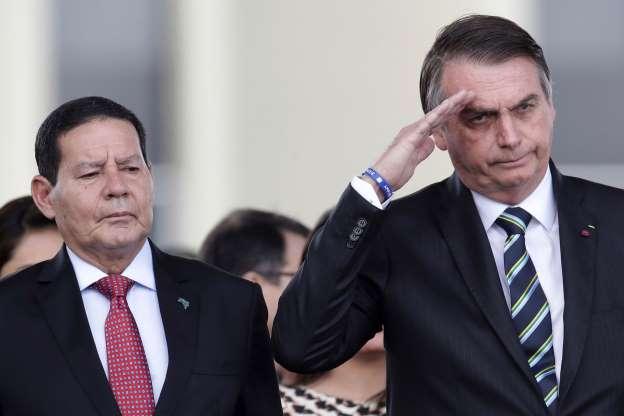 Em entrevista, Mourão afirma que 'se Bolsonaro não me quiser, é só me dizer