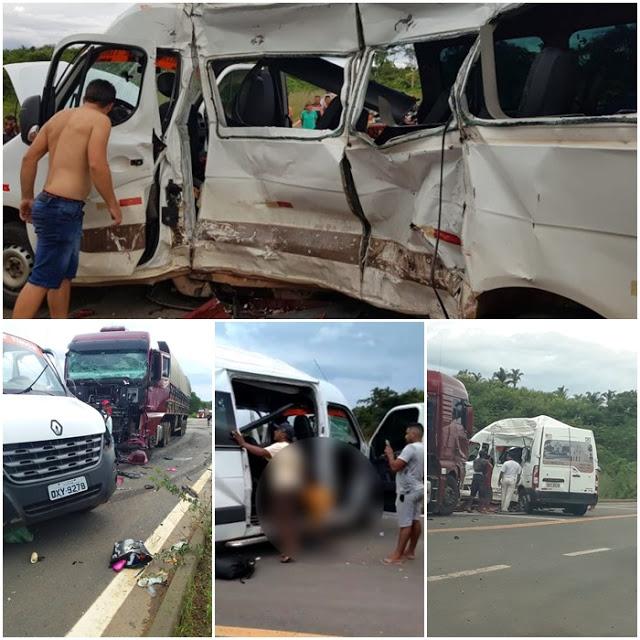 Divulgado nome de seis das sete pessoas mortas no acidente na BR 226