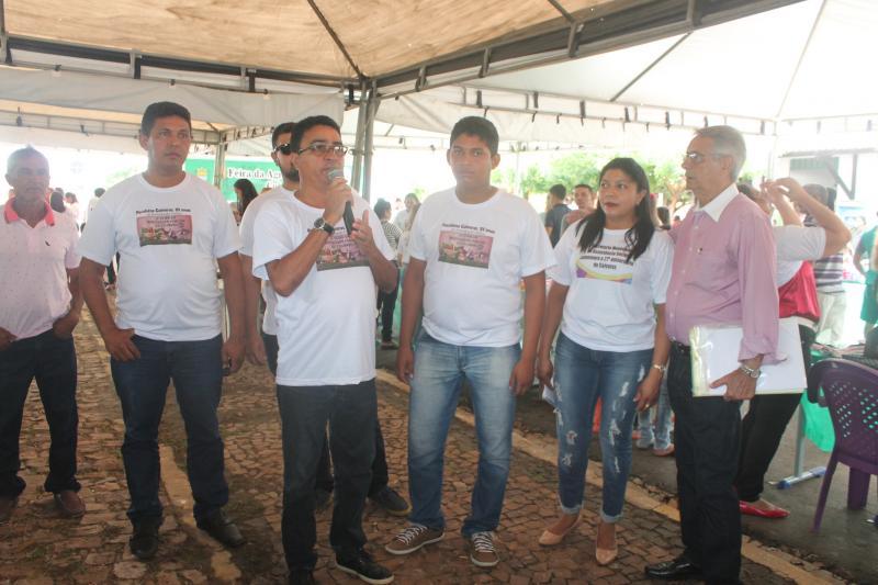 Ações propostas pelas secretarias comemoram o 27º aniversário de Coivaras