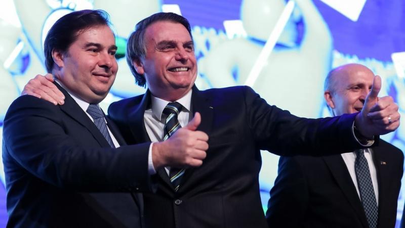 Bolsonaro e Maia, sem interlocutores