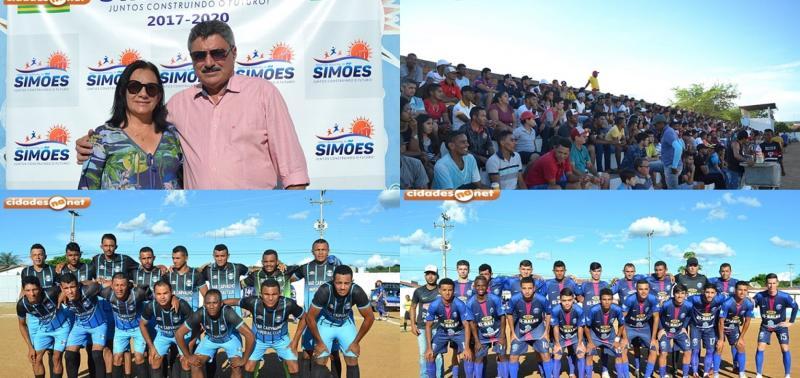 19° Campeonato de Futebol Amador é aberto em Simões
