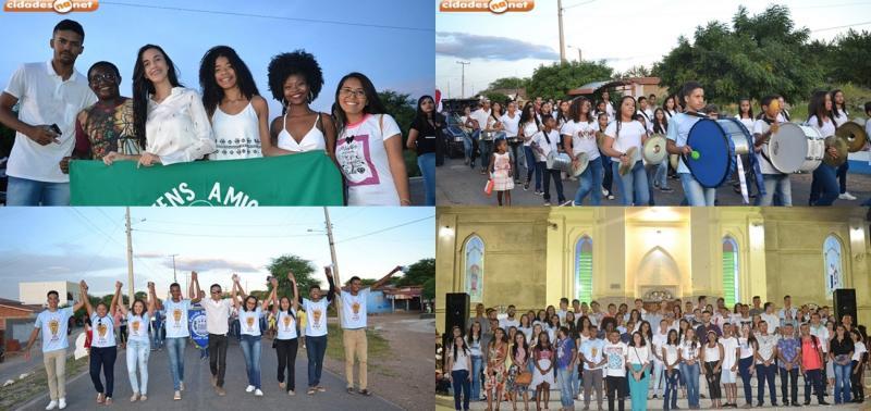 Pastoral da Juventude realiza 1ª Caminhada da Solidariedade e da Paz
