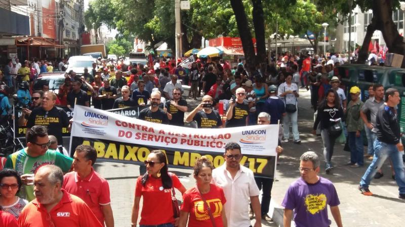Trabalhadores do Piauí realizam paralisação nesta terça contra reforma da previdência