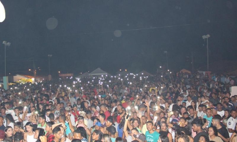 Aniversário de Francinópolis encerra com grandes shows