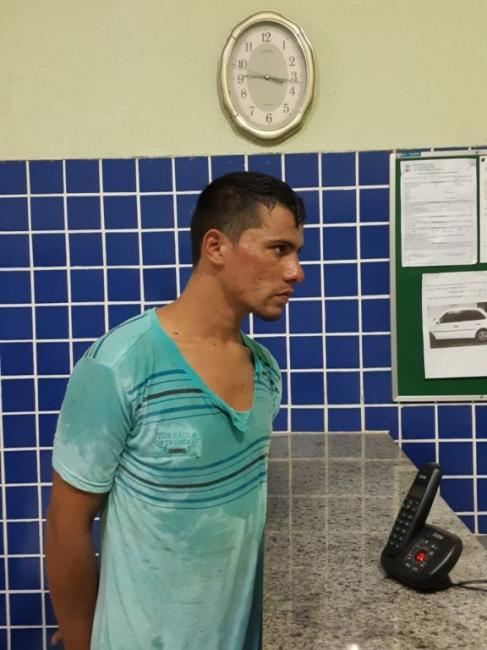 Assaltante é preso ao tentar roubar motocicleta no Piauí