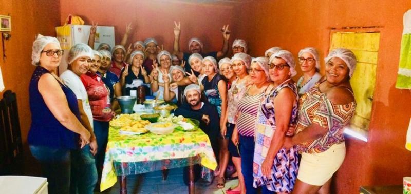 Projeto capacita agricultores familiares para produção de pratos