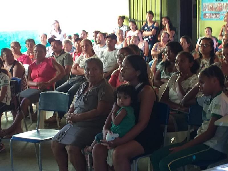Redenção: Reunião de pais e mestres marcou manhã desta sexta-feira  na UEPP