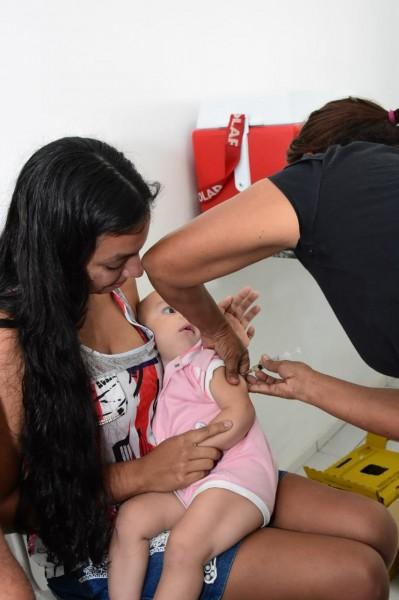 Dia 'D' alcança 47,18% da cobertura vacinal da Campanha Contra a Gripe