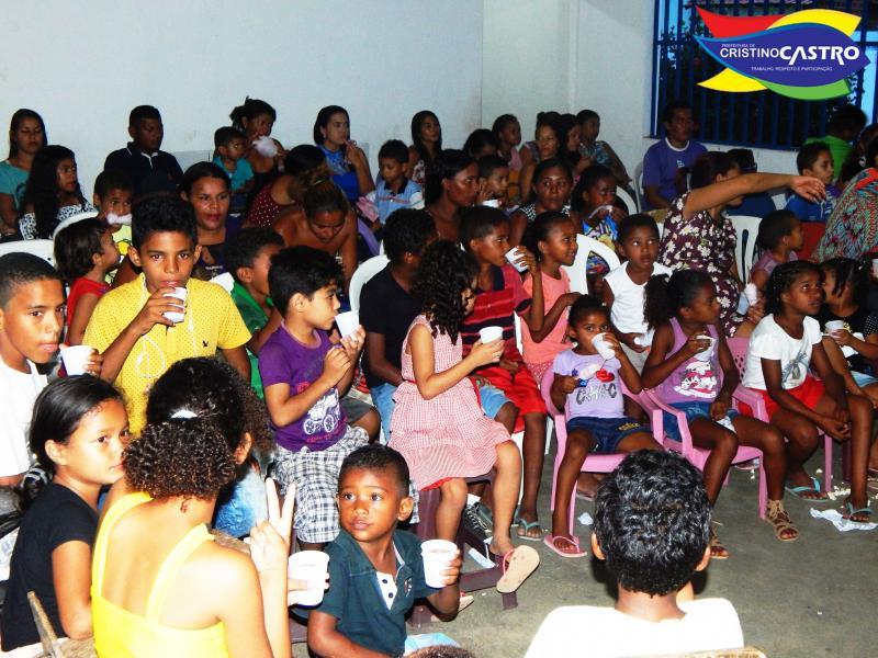 Secretaria de Assistência Social Realizou o encerramento das atividades dos alunos do SCFV