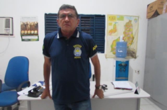 Médico veterinário da ADAPI de Picos- Edilton Pedro Silva