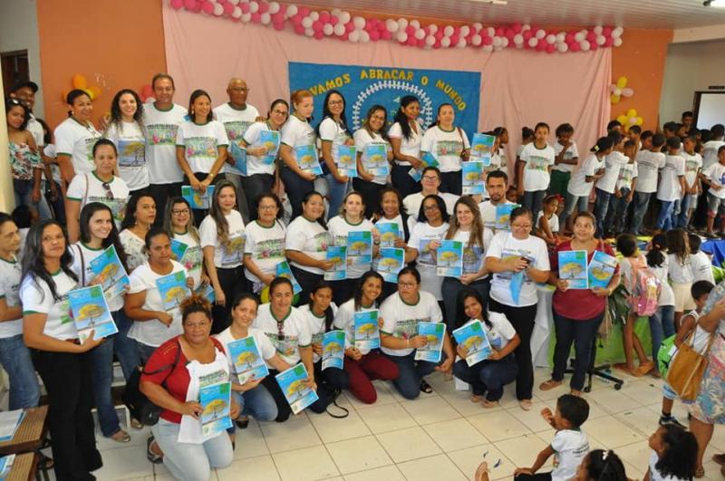 SEMEEC, SEMAR e Ministério Público realizam lançamento oficial da revista Eco Kids