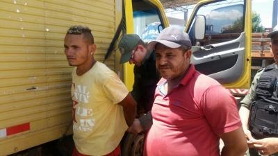 Polícia Militar de Campo Maior prende dois acusados de furto em Cabeceiras
